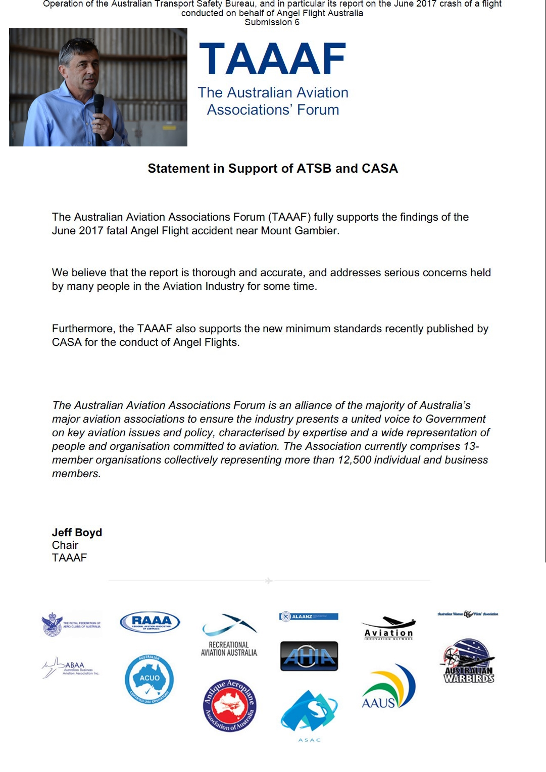 [Image: TAAAF-Statement-in-support-of-ATSB-and-CASA.jpg]