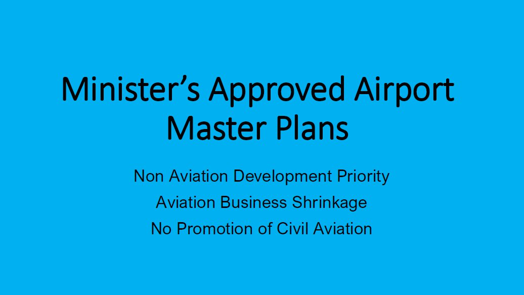 AMROBA Breaking News: Minister's Approved Airport Master Plans