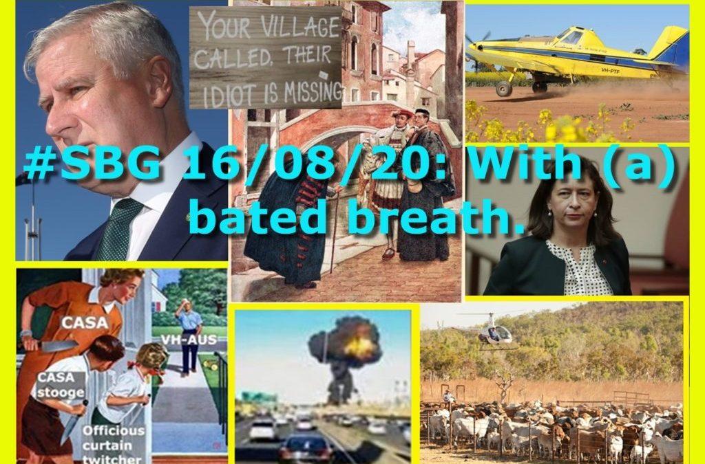 #SBG 16/08/20: With (a) bated breath.