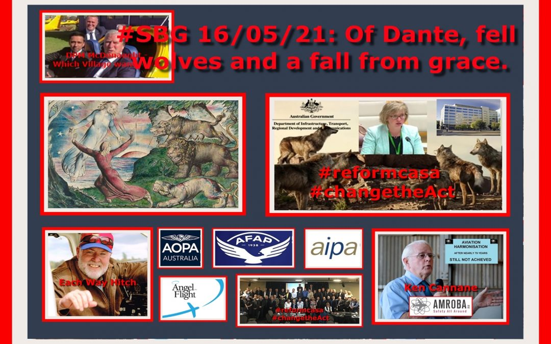 #SBG 16/05/21: Of Dante, fell wolves and a fall from grace.