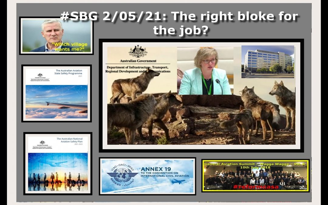 #SBG 2/05/21: The right bloke for the job?
