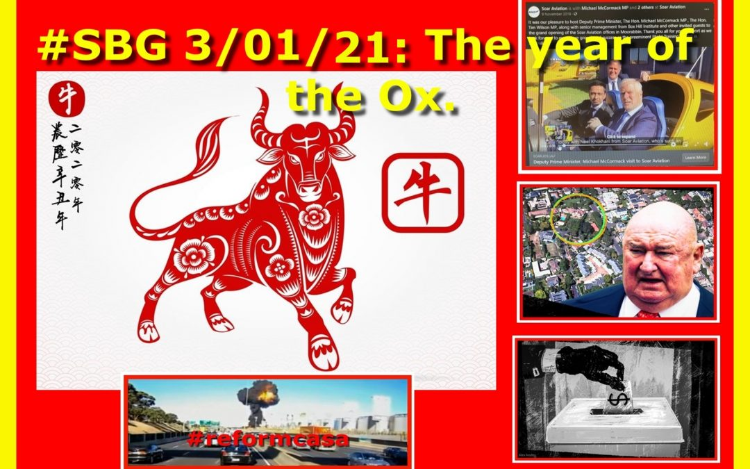 #SBG 3/01/21: The year of the Ox.